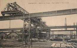 ISBERGUES - Aciéries De France - Pont Roulant Et Parc à Rails - Isbergues