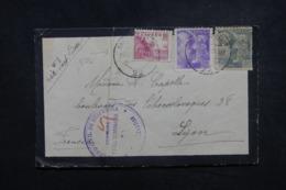 ESPAGNE - Cachet De Censure De Gubérnativa Sur Enveloppe De San Sebastian En 1940 Pour La France - L 45659 - Marques De Censures Nationalistes