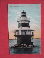 Peck's Ledge Light House Connecticut > South  Norwalk   Ref 3691 - Norwalk