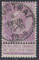 "Fine Barbe - N°67 Obl Simple Cercle ""Courtrai"" - 1893-1900 Schmaler Bart"