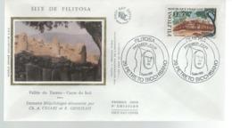 FDC - 1er Jour - 5 JUILLET 1986 - SITE DE FILITOSA - Vallée Du Taravo - 1980-1989