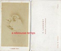 CDV Post-mortem-bébé-photo Lebert à Paris - Fotos
