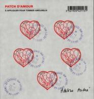 France Oblitération Cachet à Date BF N° FA  648 - Saint Valentin. Coeurs De Adeline. Pach D'amour - Sheetlets