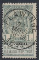 "Fine Barbe - N°53 Obl Simple Cercle ""Flawinne"" / Etat - - 1893-1900 Barbas Cortas"