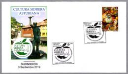 CULTURA SIDRERA ASTURIANA - SIDRA - CIDER. Gijon, Asturias, 2019 - Bebidas
