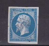 TIMBRE FRANCE/ NAPOLEON N° 14 OBLITERE - 1853-1860 Napoléon III
