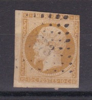 TIMBRE FRANCE/ NAPOLEON N° 13  OBLITERE - 1853-1860 Napoléon III