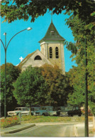 MONTFERMEIL - L'église - Voiture : Renault 4 L - Peugeot 404 - Montfermeil
