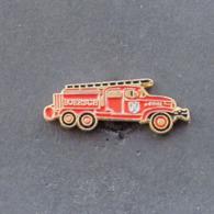 1 Pin's Sapeurs Pompiers De BOERSCH (BAS RHIN - 67) - Bomberos