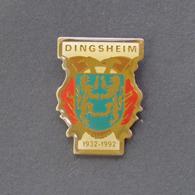 1 Pin's Sapeurs Pompiers De DINGSHEIM (BAS RHIN - 67) - Bomberos