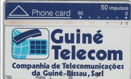 Guinea-Bissau - Guine Telecom 50 - 408A - Guinea-Bissau