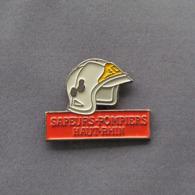 1 Pin's Sapeurs Pompiers Du HAUT-RHIN (68) - Bomberos