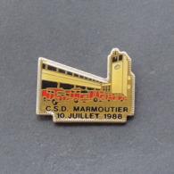 1 Pin's Sapeurs Pompiers De MARMOUTIER (BAS RHIN - 67) - Bomberos