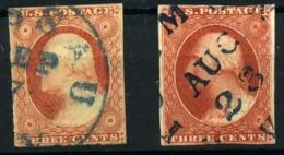 Estados Unidos Nº 4. Año 1851/56 - Usati