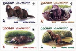 Ref. 26193 * NEW *  - GEORGIA . 1999. EUROPEAN MINK. VISON EUROPEO - Georgia