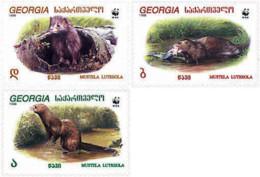 Ref. 275254 * NEW *  - GEORGIA . 1999. EUROPEAN MINK. VISON EUROPEO - Georgia