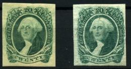 Estados Unidos Nº 12. Año 1862/64 - 1847-99 Emissioni Generali