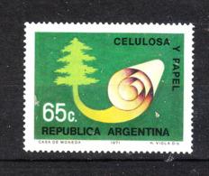 Argentina  - 1971. Industria Della Cellulosa. Cellulose Industry.. MNH - Fabbriche E Imprese