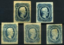 Estados Unidos Nº 10/10a. Año 1862/64 - 1847-99 Emissioni Generali