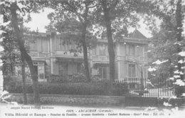 33 - ARCACHON - Villa Hérold Et Zampa - Pension De Famille - Avenue Gambetta - Arcachon