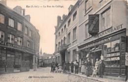 EU La Rue Du College 28(scan Recto-verso) MA768 - Eu