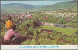 Stalybridge Celtic Football Ground, Cheshire, C.1970s - Postcard - England