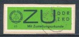 DDR Dienstmarken E 2 Y Gestempelt Geprüft Weigelt Mi. 25,- - DDR