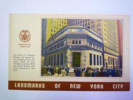 GP 2019 - 2050  LANDMARKS Of NEW YORK CITY  :  The Office Of J. PIERPONT MORGAN   XXX - New York City