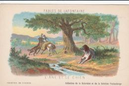 FABLES DE LA FONTAINE L,ANE ET LE CHIEN - Contes, Fables & Légendes