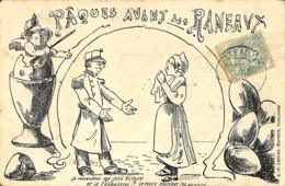 CPA - Thèmes - Illustrateurs - Paques Avant Les Rameaux. - 1900-1949