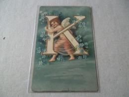 CUPIDON ET LA LETTRE K - Fancy Cards