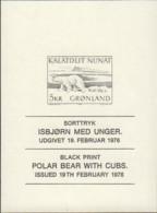 Ref. 575047 * NEW *  - GREENLAND . 1976. GREENLAND FAUNA. FAUNA DE GROENLANDIA - Unused Stamps