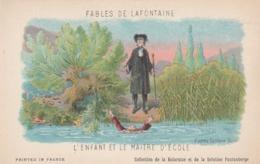 FABLES DE LA FONTAINE L,ENFANT ET LE MAITRE D,ECOLE - Contes, Fables & Légendes