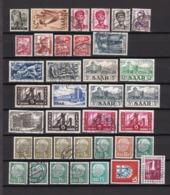 Saargebiet - 1947/57 - Sammlung - Gest./Postfrisch/Ungebr. - 1947-56 Allierte Besetzung