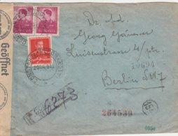 Roumanie Lettre Censurée Pour L'Allemagne 1942 - Marcofilia