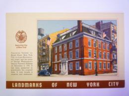 GP 2019 - 2067  LANDMARKS Of NEW YORK CITY  :  FRAUNCES TAVERN   XXX - New York City