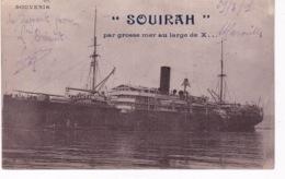 BATEAU PAQUEBOT SOUIRAH - Paquebots