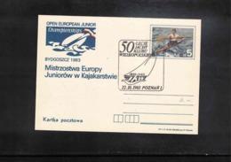 Poland / Polska 1983 Sailing Interesting Cover - Kanu