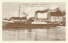 STOOMBOOT DAGERAAD Van TESO Reproductie - Fähren