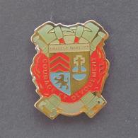 1 Pin's Sapeurs Pompiers De DRUSENHEIM (BAS RHIN - 67) - Bomberos