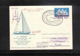 Poland / Polska 1984 Sailing Interesting Signed Cover - Kanu