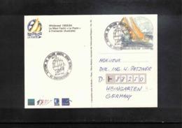 France 1984 Sailing Interesting Cover - Kanu