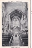 CHELMSFORD - ST MARY'S CHURCH INTERIOR - England