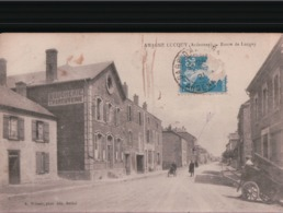 LUCQUY Route De Lucquy - Frankreich