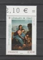"""FRANCE / 2019 / Y&T N° 5355 ? ** : """"Sainte Anne, Vierge Marie & Jésus"""" (Léonard De Vinci) X 1 BdF Haut - France"""