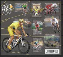 France 2013 Bloc Feuillet F4755 Neuf Luxe. Cyclisme 100 Eme Tour De France - Neufs