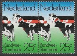 1974 Koetjes Paartje - PAIR NVPH 1052 Postfris/MNH - 1949-1980 (Juliana)