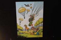 JA - 13 - Humour - Jean-Pol - Soldats Atterrissant En Parachute Sur Un Terrain De Golf - Pas Circulé - Humor