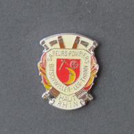1 Pin's Sapeurs Pompiers De BITSCHWILLER-LES-THANN (HAUT RHIN - 68) - Bomberos