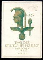 Amtliche Feldpostkarte, 18.7.1937, Tag Der DEUTSCHEN KUNST In München, Verlag Photo-Hoffmann - Deutschland